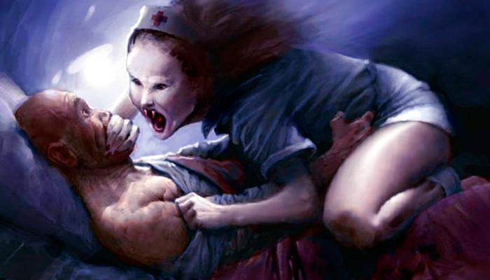 Почему ночью снятся кошмары