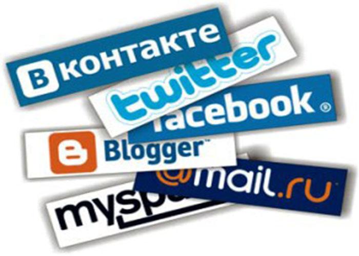 Известные социальные сети