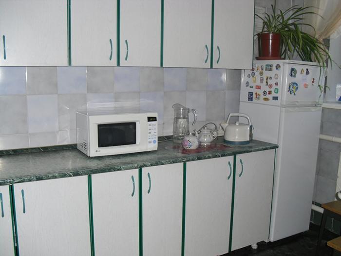 Кухня в реабилитационном центре