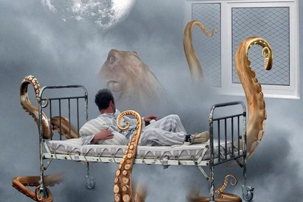 Ночные кошмары - один из симптомов абстинентного синдрома