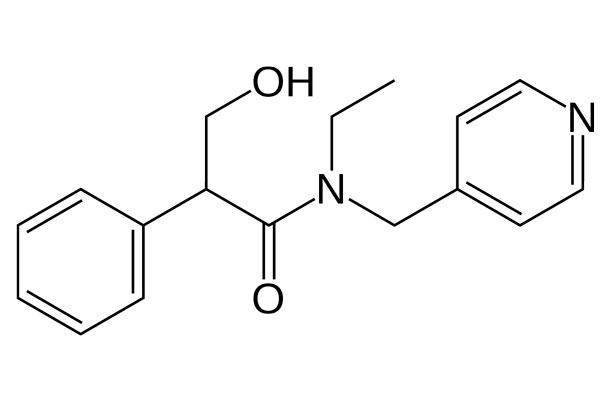Химическая формула препарата Тропикамида