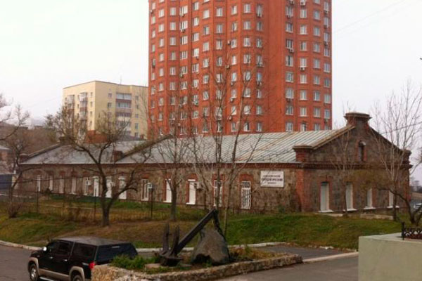 Фасад здания краевого наркологического диспансера