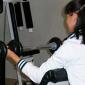 Спортзал в лемпинском наркологическом реабилитационном центре