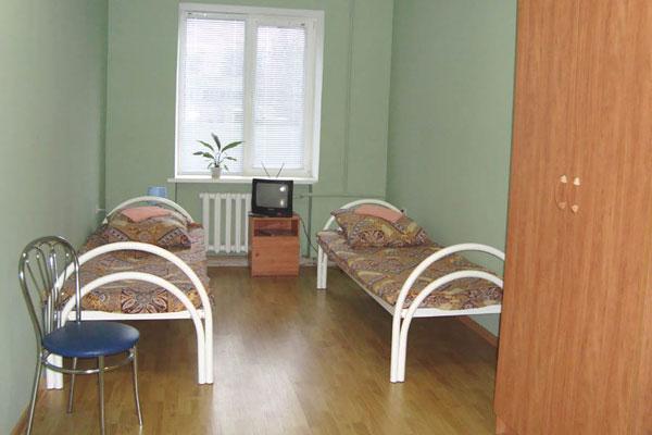 Палата в наркологической клинике «Чистый путь» (Курск)