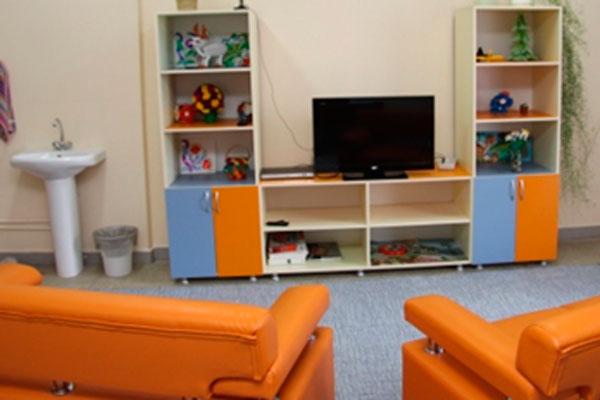 Комната досуга для больных в астраханском наркологическом диспансере