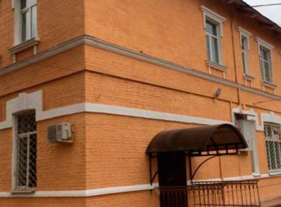 Фасад здания оренбургского наркологического реабилитационного центра №1