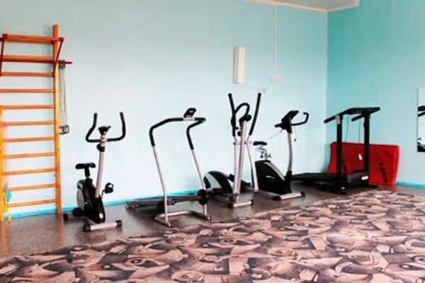 Спортзал в оренбургском наркологическом