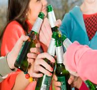 Вечеринка подростков со спиртным