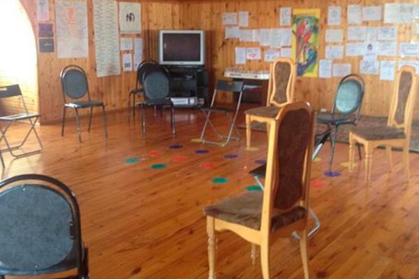 Зал для занятий в реабилитационном центре «Гармония» Пенза
