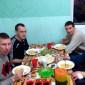 Застолье постояльцев в реабилитационном центре «Новая жизнь» (Санкт-Петербург)