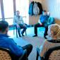Занятия постояльцев в группе в реабилитационном центре «Парус» Москва