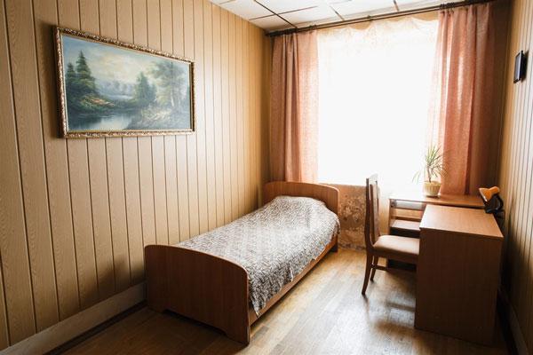Одноместный номер в реабилитационном центре «Перспектива»