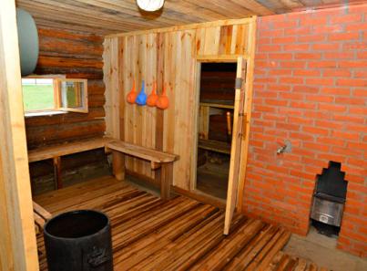 Баня в реабилитационном центре