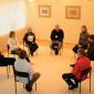 Занятия наркозависимых в реабилитационном центре «Троицкий»