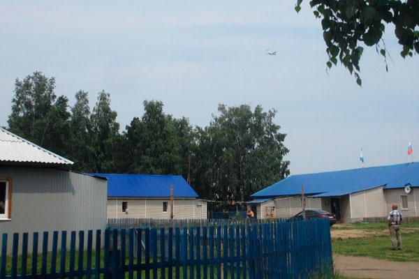 Двор в реабилитационном центре «Воля» (Иркутск)