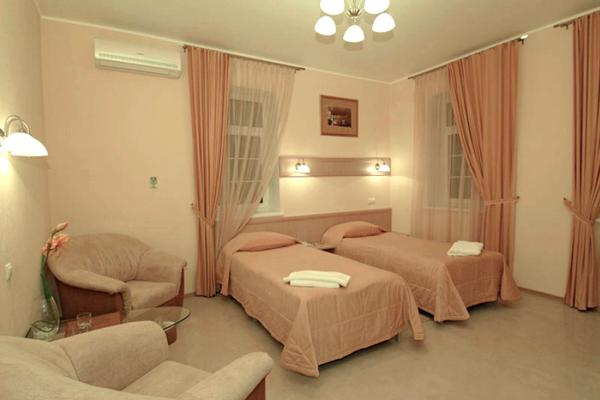 Спальня в реабилитационном наркологическом центре «Ориентир»