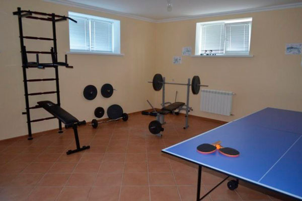 Спортзал в реабилитационном наркологическом центре «Ренессанс Львов»