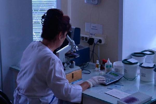 Лаборатория в Смоленском наркологическом диспансере