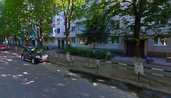 Расположение Центра нарколога-психотерапевта Воловика Кременчуг