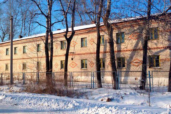 Здание центра социальной адаптации «Рассвет» в ЕАО