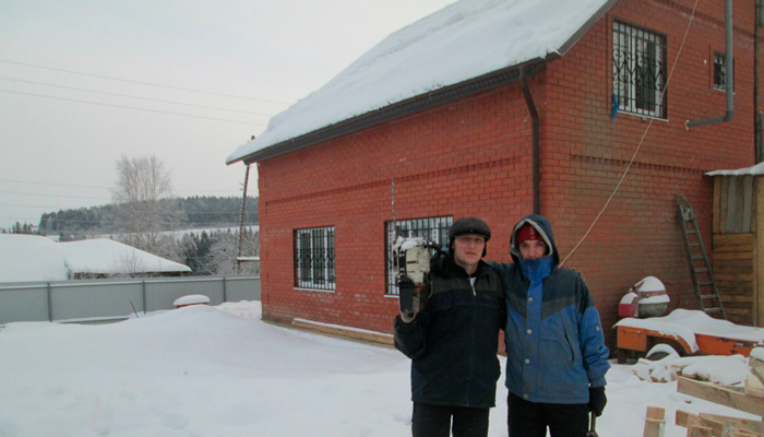 Территория реабилитационного наркологического центра «Пермский край без наркотиков»