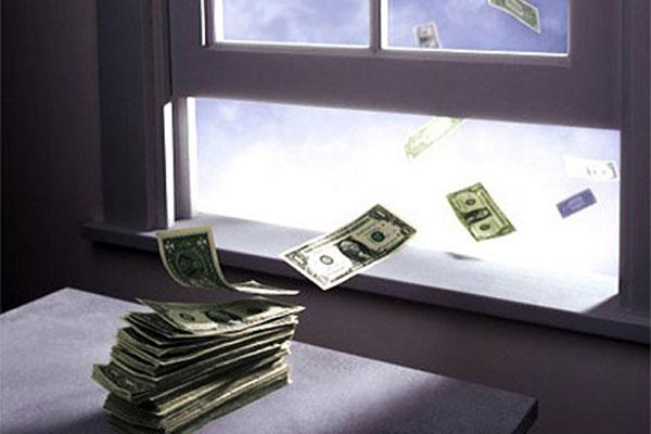 Пропажа денег в семье