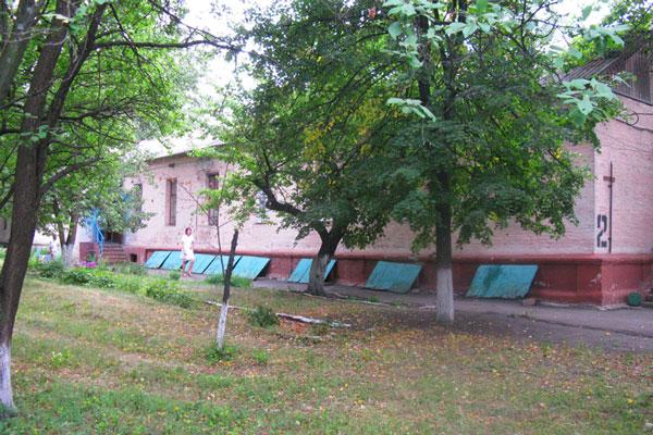 Территория Харьковской областной клинической наркологической больницы