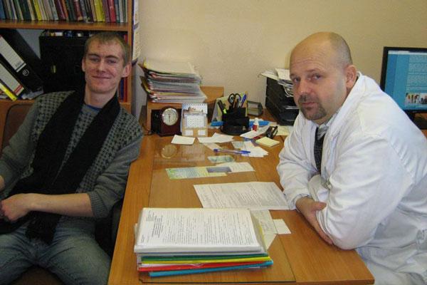 Прием больного в Наркологическом реабилитационном центре №1 Санкт-Петербург