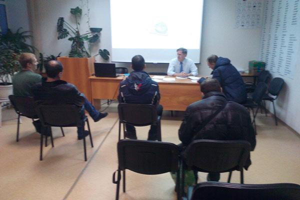 Лекция в Новосибирском областном клиническом наркологическом диспансере