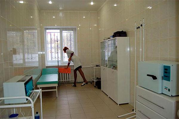 Манипуляционная в Областном наркологическом диспансере в Белгороде