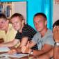 Занятия постояльцев в психотерапевтическом центре «Свободная Жизнь - Гусельниково»
