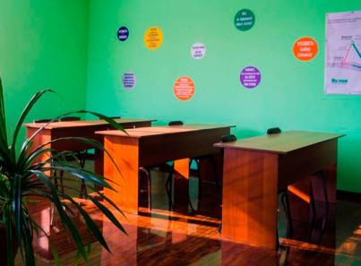 Кабинет для занятий в реабилитационном центре «Исток» в Омске