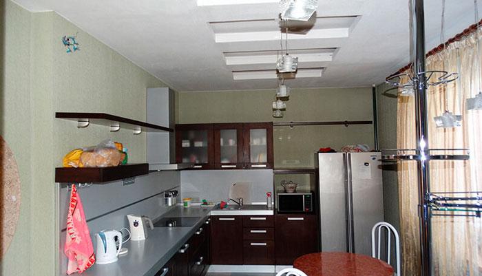 Кухня в реабилитационном центре «Рост» Челябинск