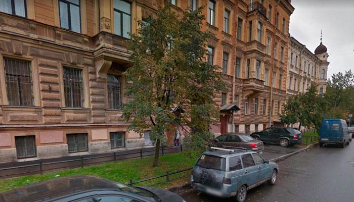 Здание реабилитационного центра «Школа независимости» Валентины Новиковой Санкт-Петербург