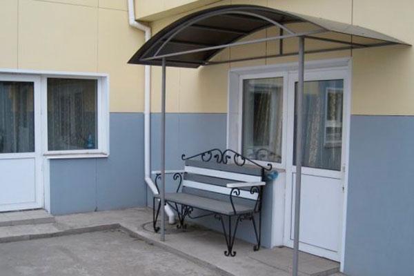 Двор реабилитационного центра «Твой выбор» Красноярск