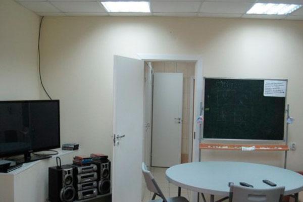 Комната для занятий в реабилитационном центре «Твой выбор» Красноярск