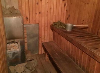 Баня в реабилитационном центре «Возвращение к жизни» Барнаул