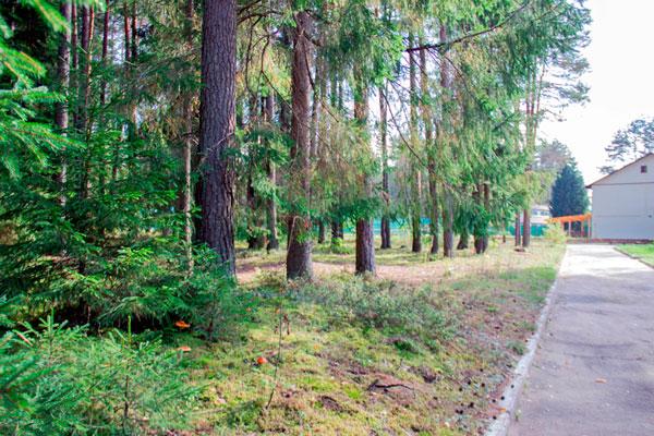 Территория реабилитационного наркологического центра «Метод» Ярославль