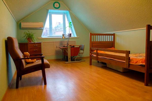 Спальня в реабилитационном наркологическом центре «Просветление» Архангельск