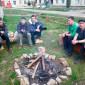 Отдых постояльцев в реабилитационном центре «Назарет» Дрогобыч
