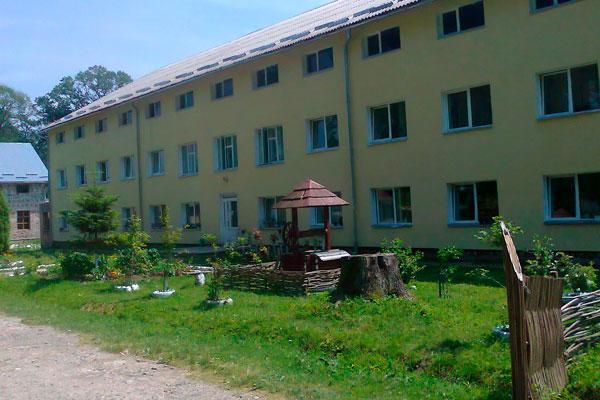 Здание реабилитационного центра «Назарет» Дрогобыч