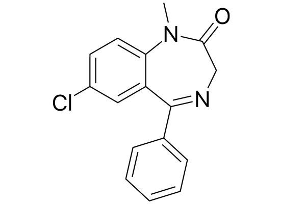 Химическая формула диазепама