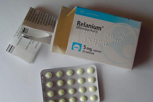 Реланиум в виде таблеток