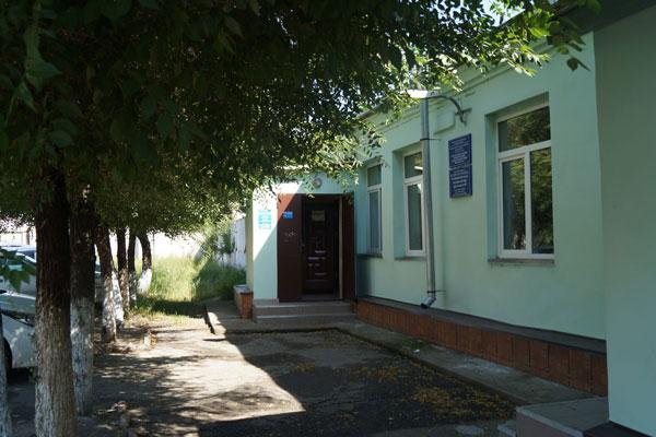 Здание республиканского клинического наркологического диспансера в Абакане