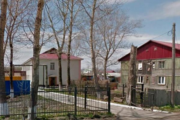 Территория Сахалинского областного наркологического диспансера