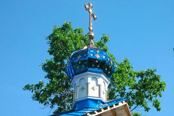 Храм для моления постояльцев в Социально-реабилитационном центре «Путь к Творцу»