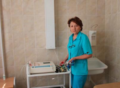 Кабинет диагностики в Тюменском областном наркологическом диспансере