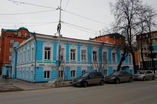 Здание Тюменского областного наркологического диспансера