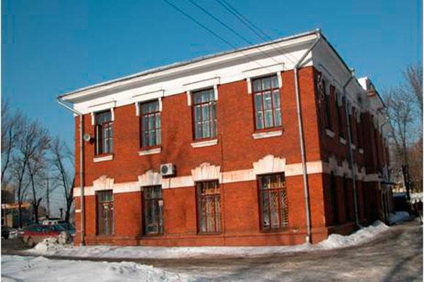 Здание Ярославской областной клинической наркологической больницы