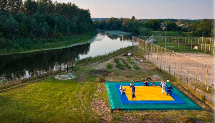 Территория Центра реабилитации наркозависимых «Выбор» Полтава